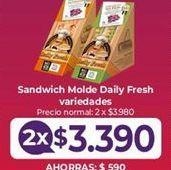 Oferta de Sandwiches por $3,39