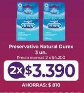 Oferta de Preservativos Durex por $3,39