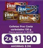 Oferta de Galletas Frac por $1,19