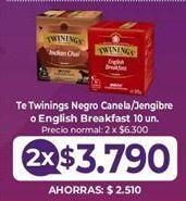 Oferta de Té Twinings por $3,79