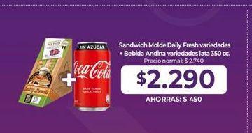 Oferta de Sandwiches por $2,29