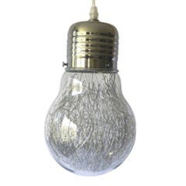 Ofertas de Lámpara Colgante Luminosa Blanco L3002 por $9990