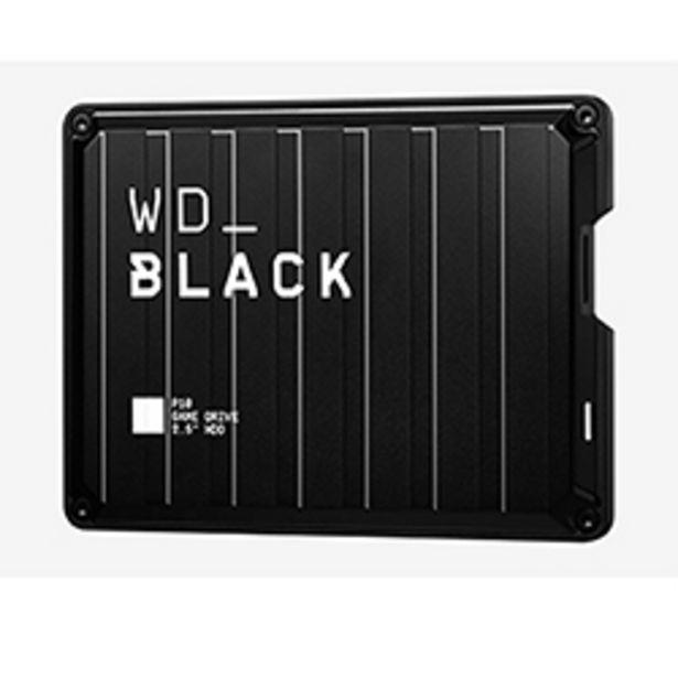 Oferta de Disco Duro Externo Western Digital 2TB HDD P10 Negro por $99990