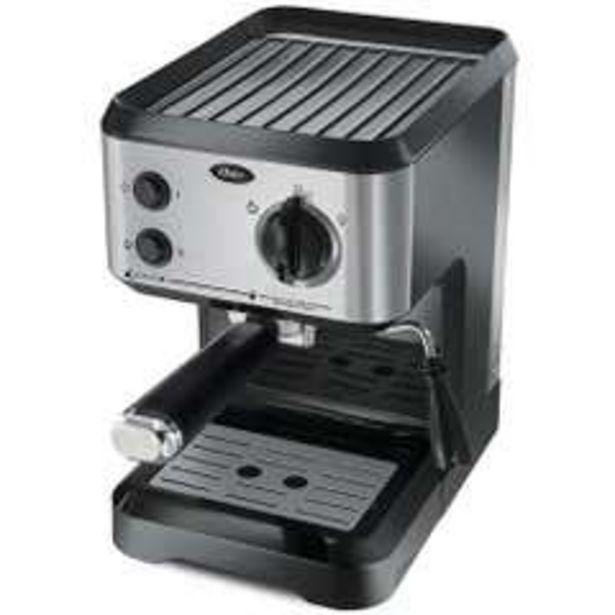 Ofertas de Cafetera espresso plateada 1050W 1,2 Litros por $79990