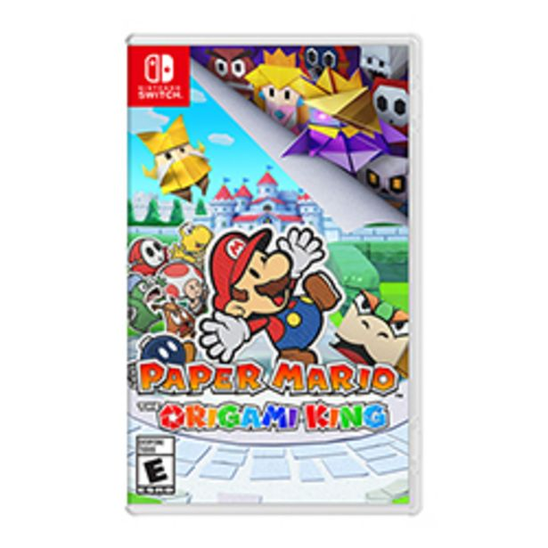 Oferta de Juego Nintendo Switch Paper Mario: The Origami King por $54990