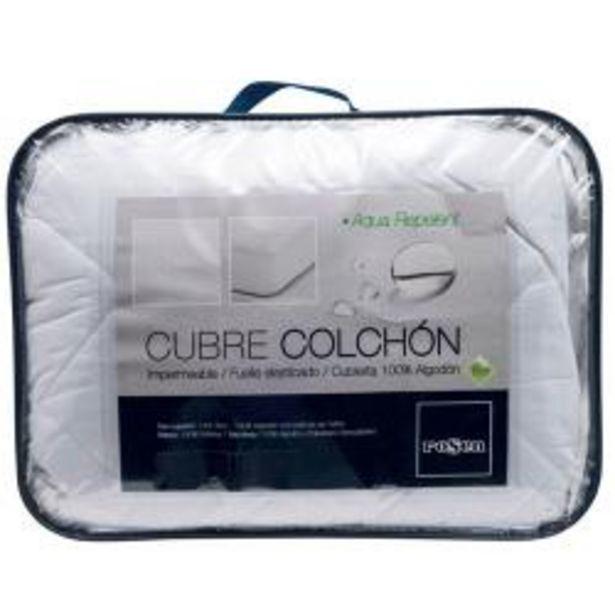 Oferta de Cubre Colchón Rosen Aqua Repelent 1,5 Plazas por $26990