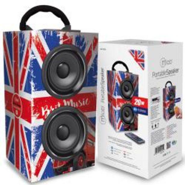 Oferta de Parlante Microlab Zuka Bluetooth Britpop 6985 por $9990