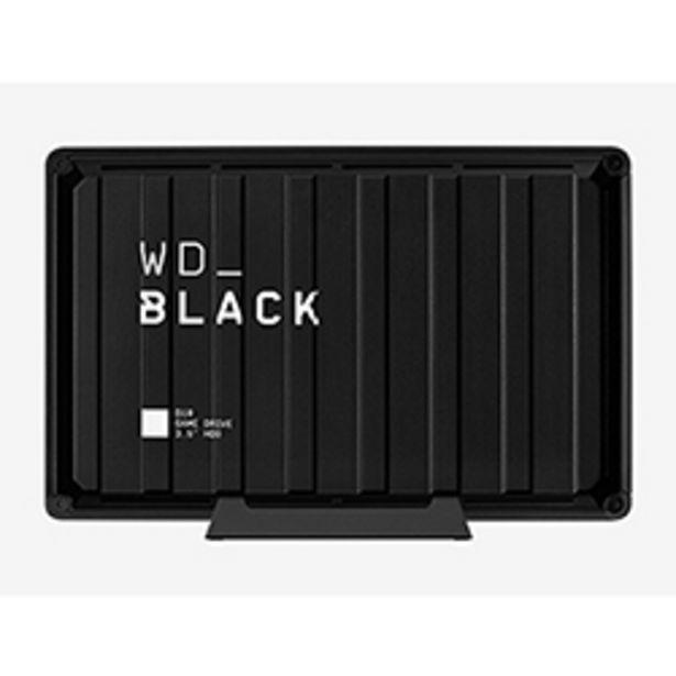 Oferta de Disco Duro Externo Western Digital 8TB HDD D10 Negro por $209990