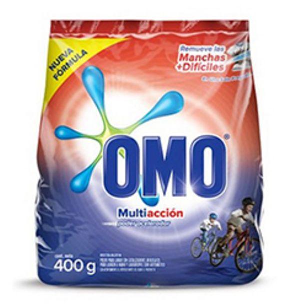 Oferta de OMO en Polvo Multiacción Bolsa 400 gr 30 unid por $44990