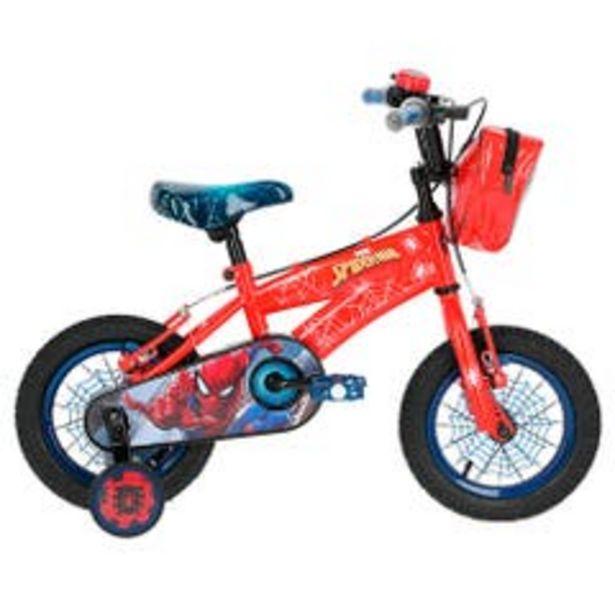 "Ofertas de Bicicleta Mountain bike Spiderman 12"" por $119990"