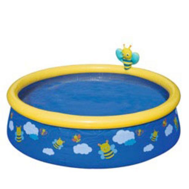 Oferta de Piscina Bestway My First Fast Set Spray Pool 57326 por $24990