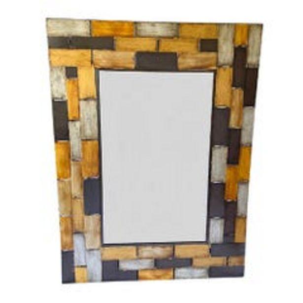 Ofertas de Espejo De Pared Metal Cuadros De Colores ANKARA STORE A8003 por $154990