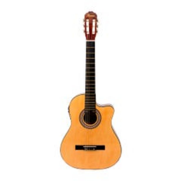 Ofertas de Guitarra Electroacústica Mercury Mean1 Natural por $59990
