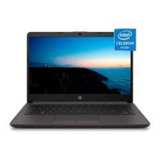 Ofertas de Notebook HP 240 G8 Celeron 4GB 500GB 14 HD W10H  por $269990