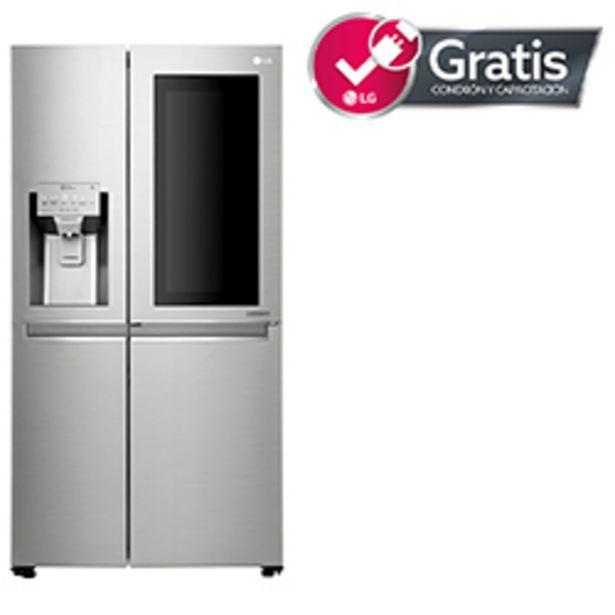 Oferta de Refrigerador LG 601 Litros Side by Side LS65SXN por $1269990
