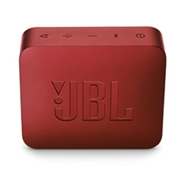 Oferta de Parlante Bluetooth JBL GO 2 Rojo por $29990