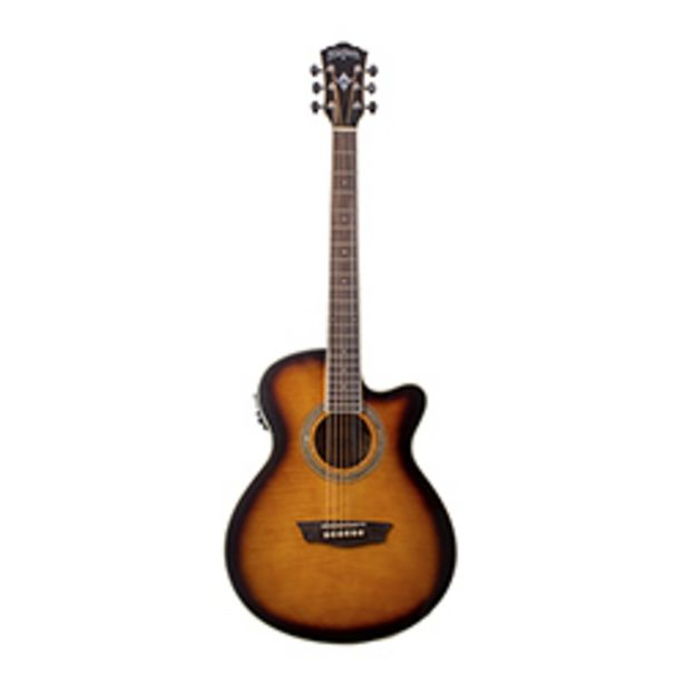 Oferta de Guitarra Electroacústica Washburn EA15ATB por $220990