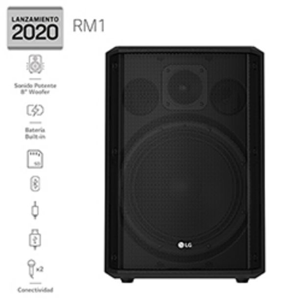 Ofertas de LG Audio Mini componente Karaoke LG RM1 2020 por $59990