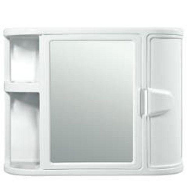 Ofertas de Gabinete Para Baño Rimax con Espejo Blanco por $38990