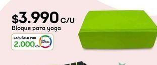 Oferta de Yoga por