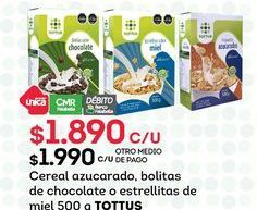 Oferta de Cereales Tottus por $1890