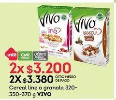 Oferta de Cereales Vivo por $3200
