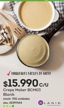 Oferta de Crepes Maker por $15,99