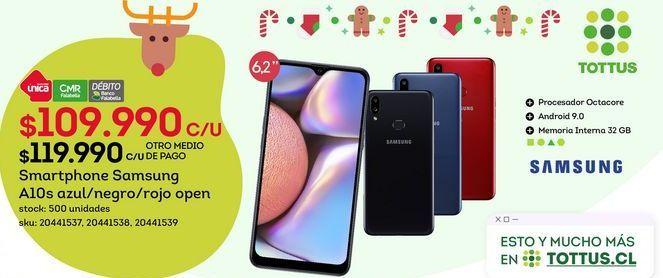 Oferta de Samsung Galaxy A10s por $109,99