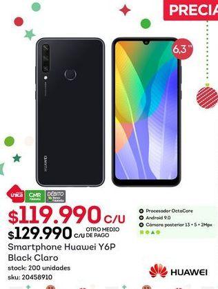 Oferta de Huawei Y6P por $119,99