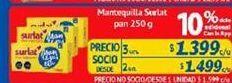 Oferta de Manteca Surlat por $1,4