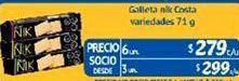 Oferta de Galletas Nik  por $279