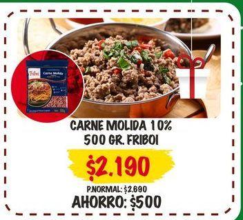 Oferta de Carne molida Friboi por $2,19