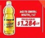 Oferta de Aceite Cristal por $1,28