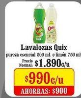Oferta de Detergente Quix por $990