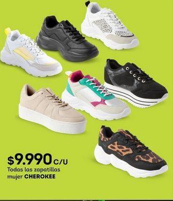 Oferta de Zapatillas mujer Cherokee por $9990