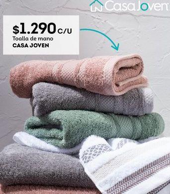 Oferta de Toallas Casajoven por $1290
