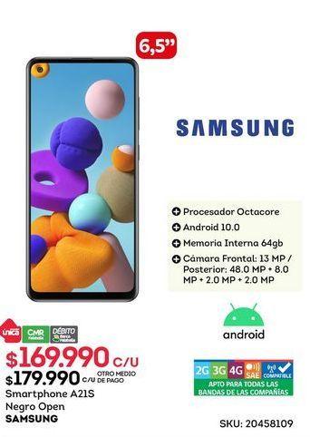 Oferta de Samsung Galaxy A21s por $169990