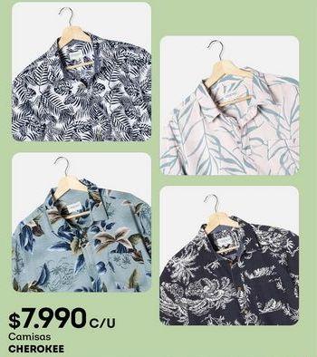 Oferta de Camisas Cherokee por $7990