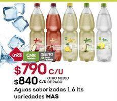 Oferta de Agua con sabor Más por $790