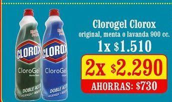 Oferta de Cloro Clorox por $2290