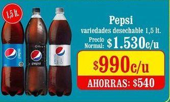 Oferta de Pepsi por $990
