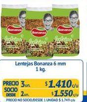 Oferta de Lentejas Bonanza por $1410