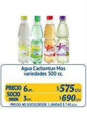 Oferta de Agua con sabor Más por $575