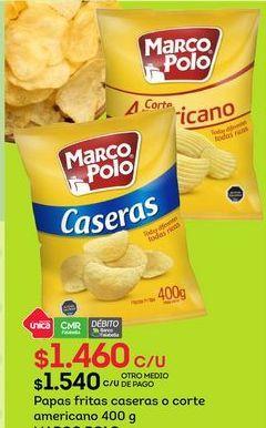Oferta de Papas fritas Marco Polo por $1460