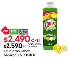 Oferta de Lavavajillas Quix por $2490