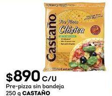 Oferta de Pizza congelada Castaño por $890