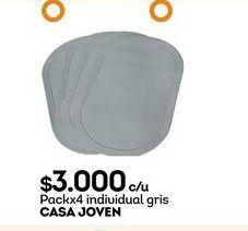 Oferta de Mantel individual Casajoven por $3000