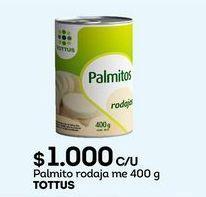 Oferta de Palmitos Tottus por $1000