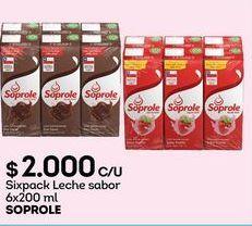 Oferta de Leche Soprole por $2000