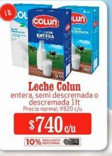 Oferta de Leche Colun por $740
